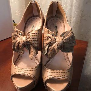 Miu miu high heel sandals Sz 36,5